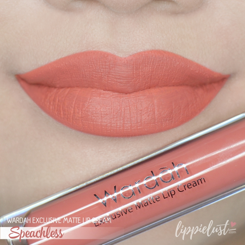 Swatches Amp Review Wardah Exclusive Matte Lip Cream 12