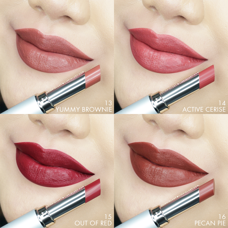 [SWATCH & REVIEW] Wardah Cosmetics Intense Matte Lipstick