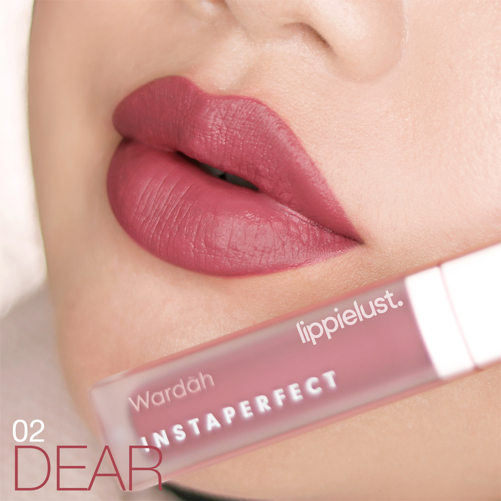 [REVIEW AND SWATCHES] WARDAH INSTAPERFECT MATTESETTER LIP
