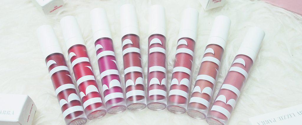 Kedelapan warna yang ditawarkan BLP Beauty