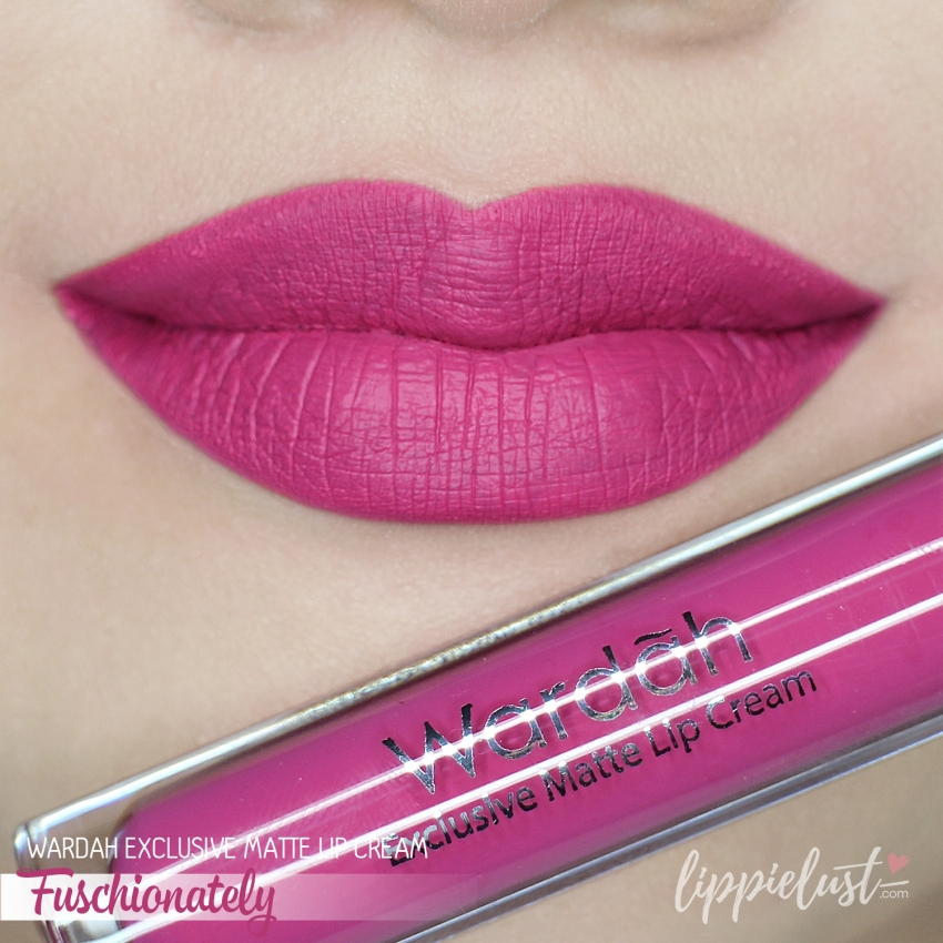 Swatch Review Wardah Exclusive Matte Lip Cream 12 Shades