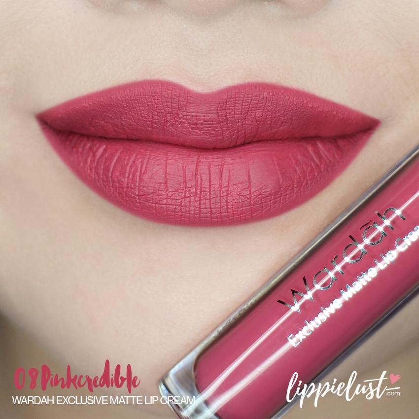 Lipstik Wardah Matte Warna Pink Keunguan