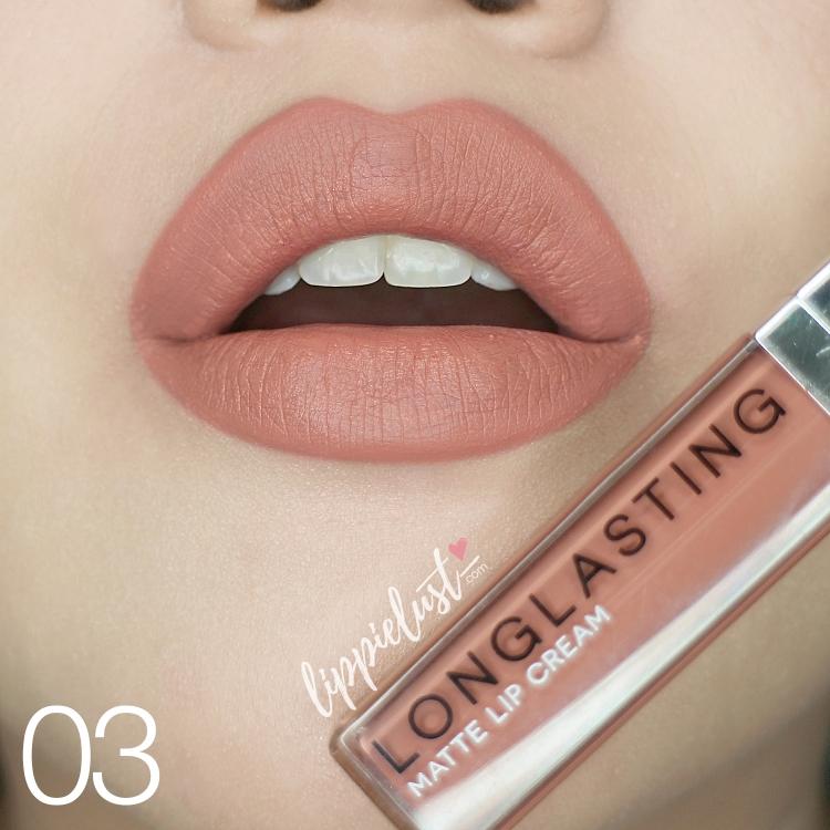 [SWATCHED] LT Pro Longlasting Matte Lip Cream - LIPPIELUST