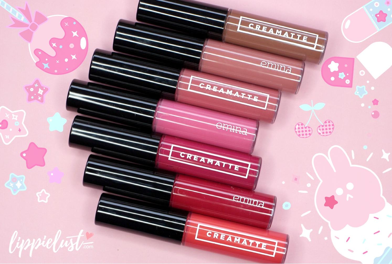 SWATCHED] Emina Creamatte Lip Cream