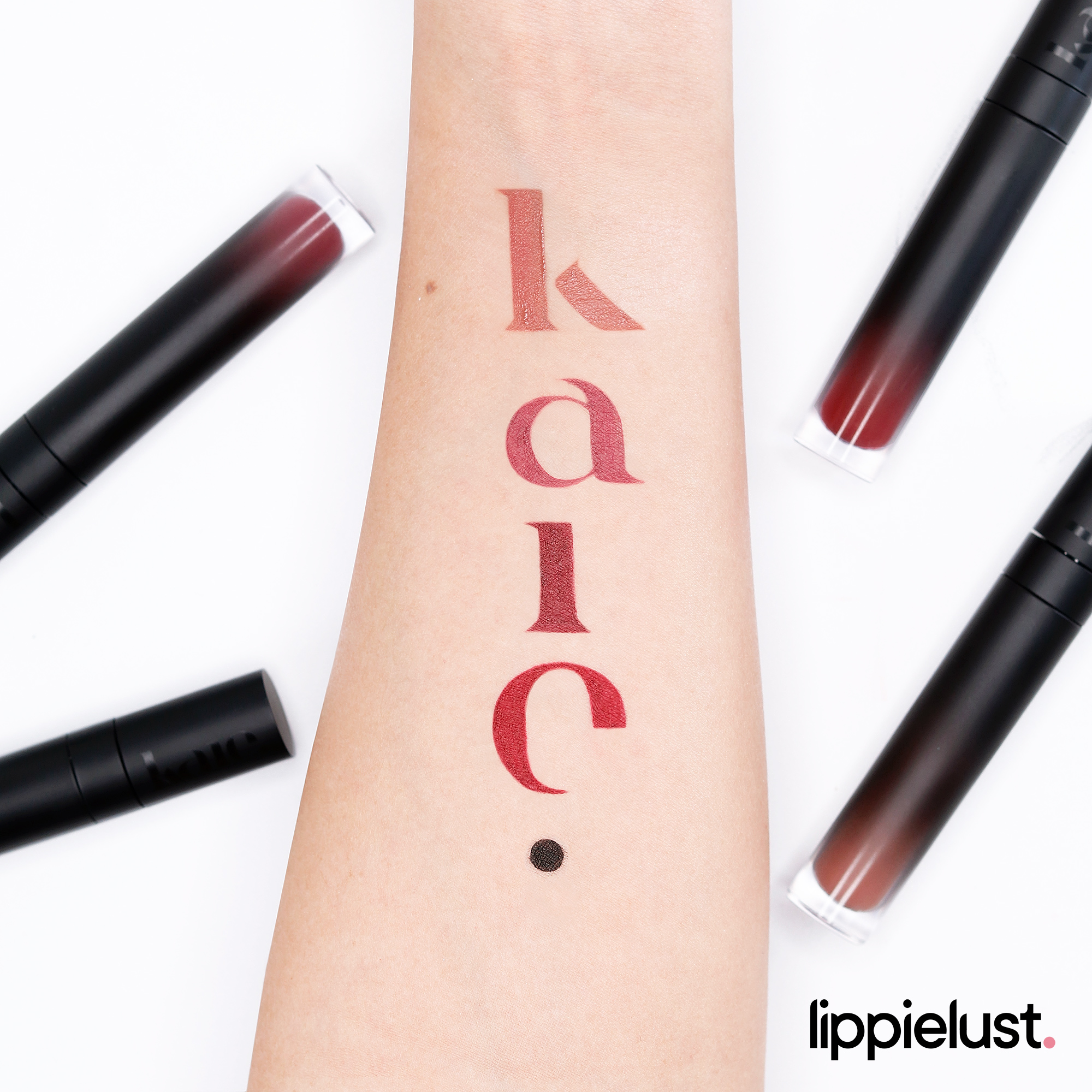 KAIE BEAUTY LIP MOUSSE & PH RESPONSIVE LIP GLOSS REVIEW